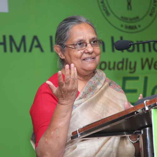 Ms Ilaben Gandhi